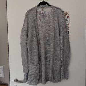 NWOT Free People mohair cardigan size large